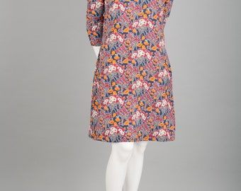 Julia silk dress Liberty print