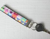 Key Fob Wristlet with Mic...