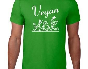Vegan Tshirt, Funny Tshirt, Vegetarian, Funny T Shirt, Vegan T shirt, Funny Tee, Animal Rights, Ringspun Cotton, Mens Plus Size