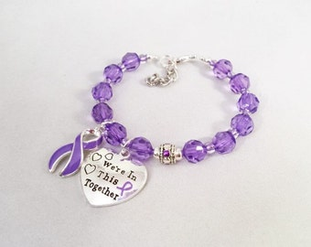 Crohn's, Ulcerative Colitis, Lupus, Angioedema Awareness, Chronic Recurring Angioedema, HAE, We're In This Together, Gift For Mom