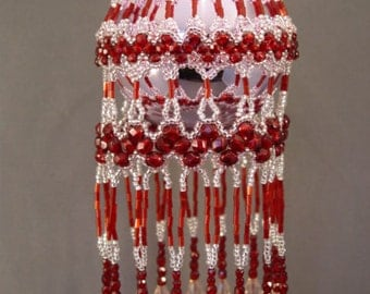 Victorious Beaded Christmas Ornament Cover Pattern