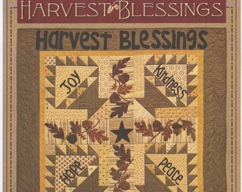 Pattern: Harvest Blessings Applique Quilt Pattern by Timeless Traditions by Norma Whaley