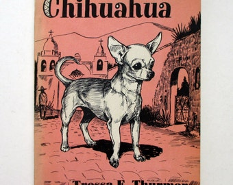 Pet Chihuahua Vintage Book