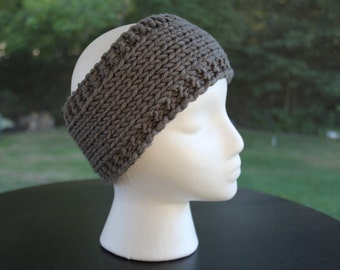 "Classic Headband, Charcoal ""The Susie"""