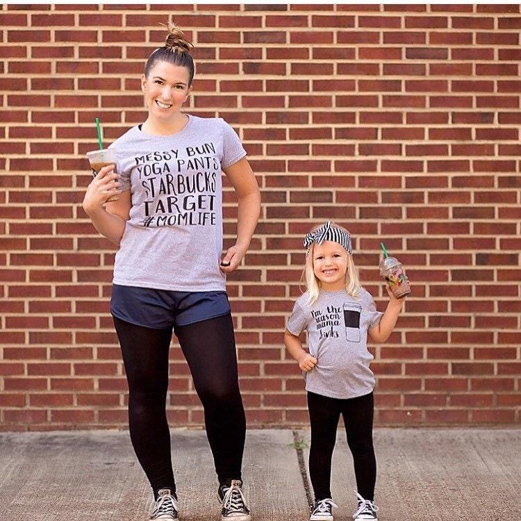 Mommy & Me Target Starbucks Fans