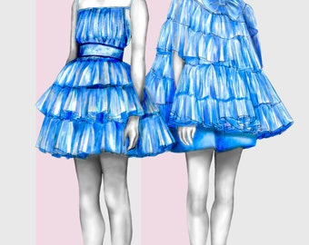 Bora Asku / Fashion Illustration / Fashion Print
