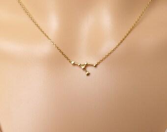 Cancer Constellation Necklace,Cancer Necklace, Zodiac Cancer,Cancer Pendant, Constellation Jewelry,Gift idea,Unique Pendant Necklace