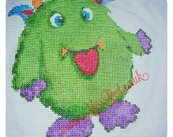 Moseley Monster Counted Cross Stitch Kit