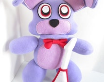 Plush inspired by five nights at freddy s unofficial fnaf plush