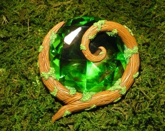 "Kokiri Emerald - handcrafted unique Prop in LIFESIZE!  - ""Made to Order"""