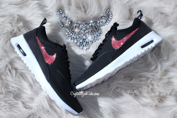 nike air max thea made with swarovski crystals. Black Bedroom Furniture Sets. Home Design Ideas