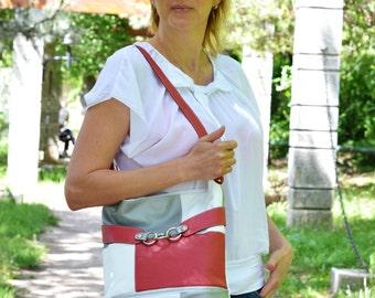 SOFT LEATHER HANDBAG, Leather Shoulder Bag, Soft Leather Purse, Leather Hobo Bag, Soft Leather Bag, Everyday Leather Bag, Woman Leather Bag