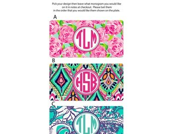 Personalized gift,  car tag, Monogrammed license plate,  car tag, personalized license plate, monogram car tag, pick your design