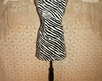 Zebra print dress  Etsy