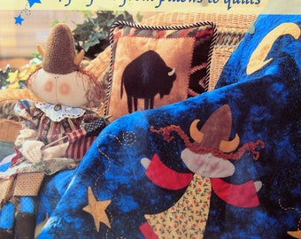 Quilt And Sew Fanciful Folk Art 24 Projects From Pillows To Quilts By Miriam Gourley Paperback Quilting And Sewing Book 2004