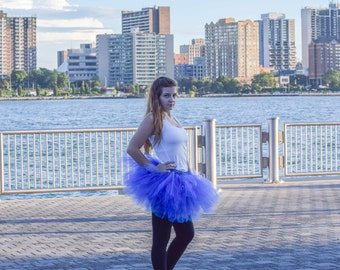 Blue tutu -Halloween tutu -Running Tutu-Race Tutu -Adult Tutu -Royal Blue tutu- Color Run Tutu-Marathon Tutu -5K Tutu - Tutu -Fun Run Tutu -