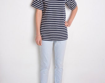 French sailor shirt etsy for Striped french sailor shirt
