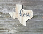 Wooden Texas Cutout