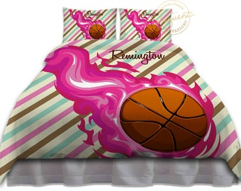 girls basketball duvet cover teen bedding popular duvet sets pink full bedding sets