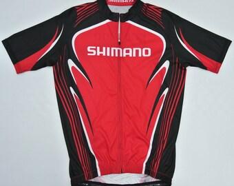 Shimano Cycling Jersey Women Large Shimano Red Cycling Gear