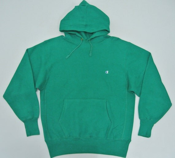 Champion Reverse Weave Hoodie Mens XLG Vintage Champion