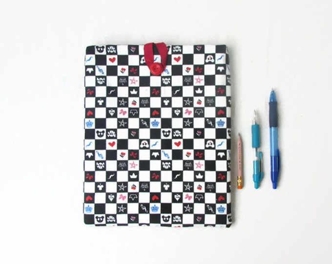 CLEARANCE Fabric Ipad cover, 10 inch tablet case, handmade in the UK