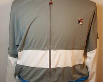 FREE  SHIPPING  Vintage Fila Warm up Jacket