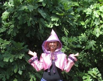 Orchid Satin Fairy Jacket