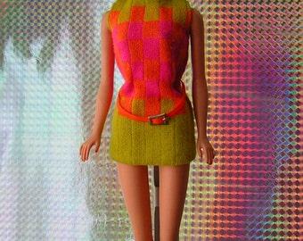 Vintage Mattel MOD Sears Exclusive Rare Walking Jamie Doll