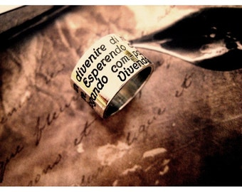 Band ring, silver 925