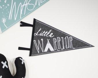 Little Warrior - Pennant flag