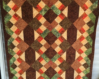 "Autumn Tapestry Quilt Kit 57"" x 71"""
