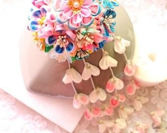 hair accessories for kimono yukata-wedding hair accessory, bridal hair stick, bridal hair pin, wedding hair pin, wedding Headpiece,  -B21
