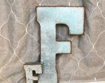 Large Metal Wall Letters large metal letter/letter a/galvanized metal wall letter/large