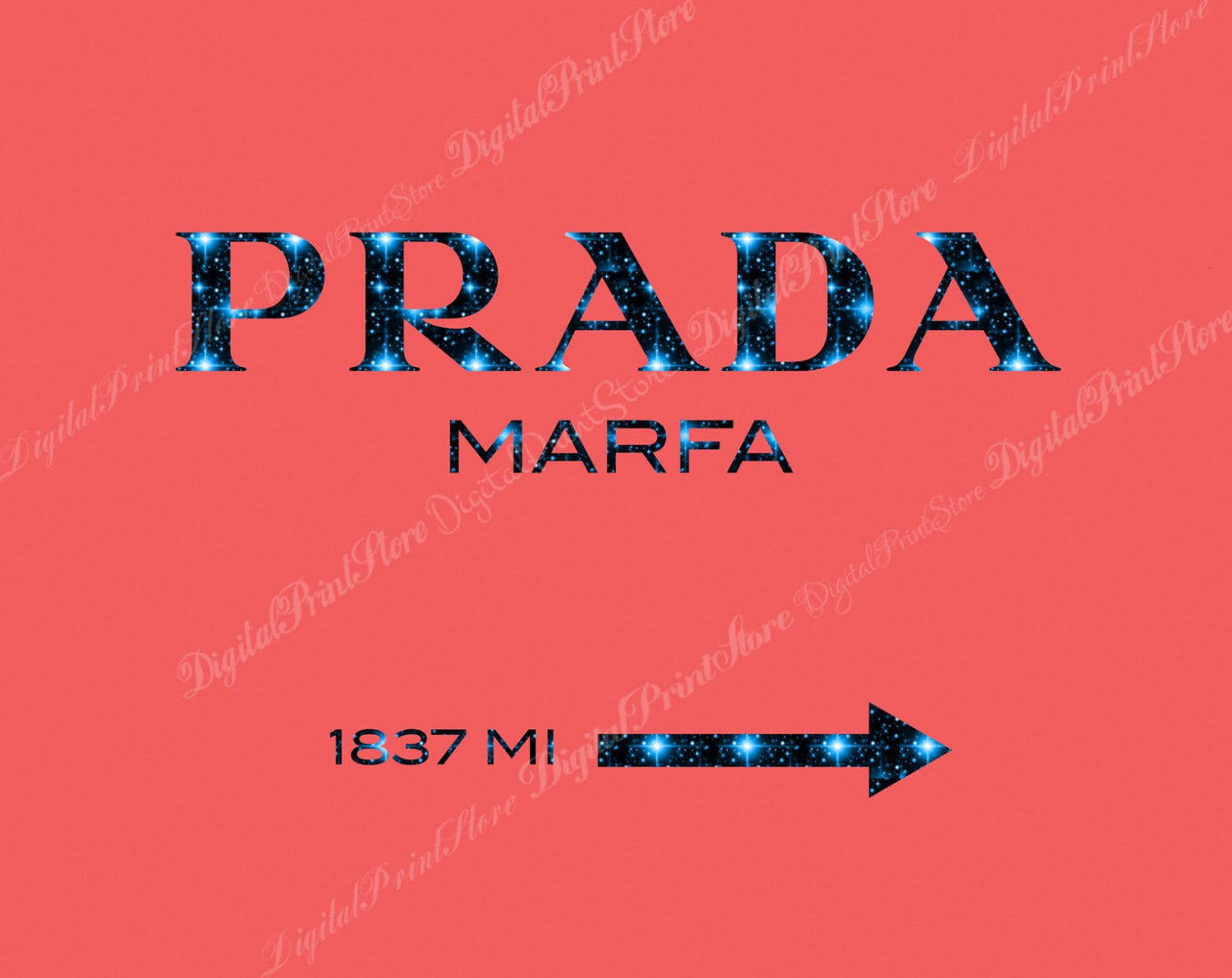 prada marfa 04 prada marfa print prada glitter wall fashion. Black Bedroom Furniture Sets. Home Design Ideas