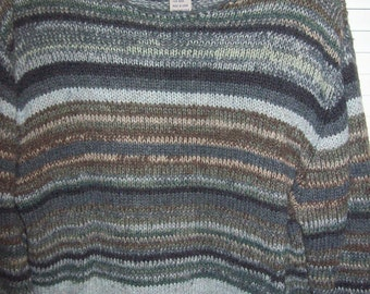 Sweater, , 12 - 14, Fair Isle  High Sierra Fair Isle Sweater Shades of Grey, Size medium