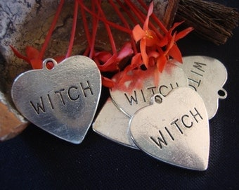 Witch Heart Charm
