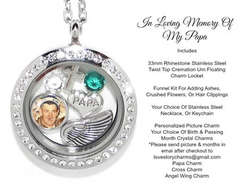 Daddy cremation urn cremation jewelry memorial necklace for Father daughter cremation jewelry
