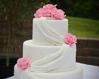 wedding cake fake tiers 4 tier faux wedding cake wedding cake faux wedding 22589