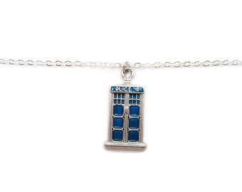 Tardis  Bracelet Doctor Who Bracelet  Whovian Gifts Under 20 Doctor Who Jewelry Tardis Jewelry Police Box Bracelet