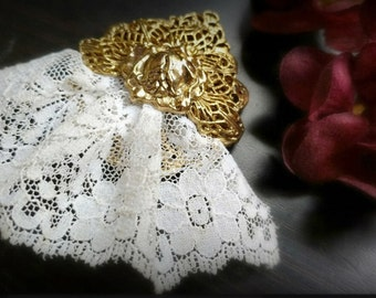 Vintage Lace Brooch