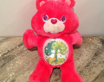 Care Bears 1991 Forest Bear