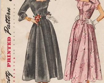 1950s Vintage Sewing Pattern SIMPLICITY 3140, BODICE ONLY  Misses' Size 14