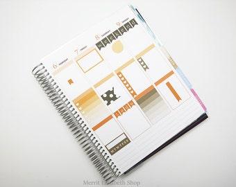 Planner Sampler Kit : October Vertical Planner Stickers 038045