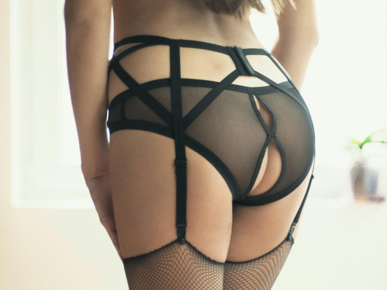 gay bottoms sheer panties