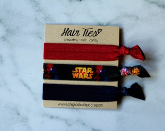 """Elastic Hair Ties - The """"Rey"""" Collection"""