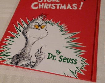 How the Grinch Stole Christmas book pad