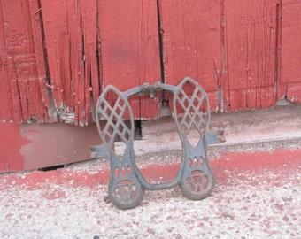 Antique Vintage Cast Iron Foot Pedal Steam Punk