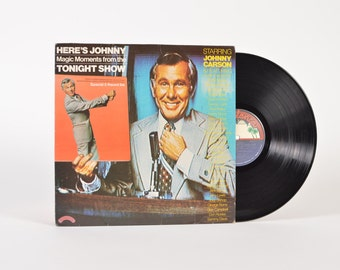 Here's Johnny: Magic Moments from the Tonight Show - vinyl record