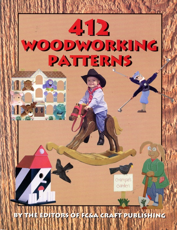 412 woodworking patterns by the editors of fc amp a craft publishing